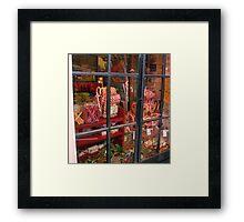 Old English Sweet Shop Framed Print