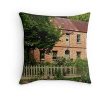 Windsor House Walhalla,1878 Throw Pillow