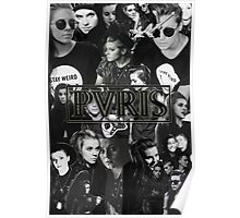 PVRIS - Lynn Gunn Collage Poster