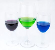 Cocktails for three by Jeffrey  Sinnock