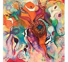 Sea of Colour Photographic Print
