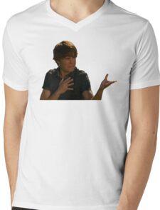 ZAc face Mens V-Neck T-Shirt