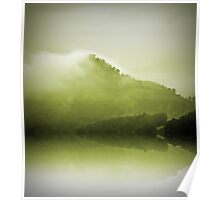 Green Mountain Mist Poster