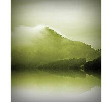 Green Mountain Mist Photographic Print