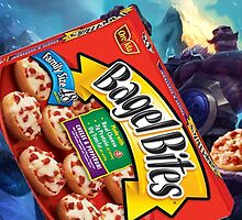 Pizza Bagel Braum by BootyChief