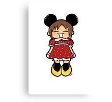 Manga Minnie Canvas Print
