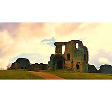 Denbigh Castle, in North Wales Photographic Print