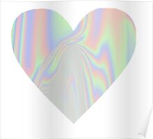 Pastel Heart Poster