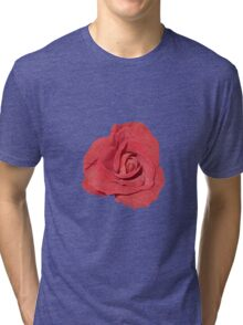 Romantic rosebud Tri-blend T-Shirt