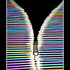 Cotton Buds Zipper by UniqueDesigns