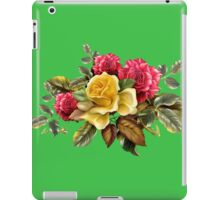 Watercolor rose bouquet iPad Case/Skin