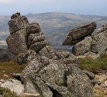 Balancing granite... by Richard  Stanley