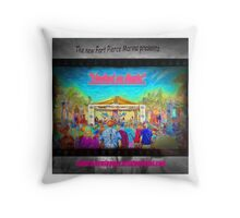 Hooked on Music Throw Pillow