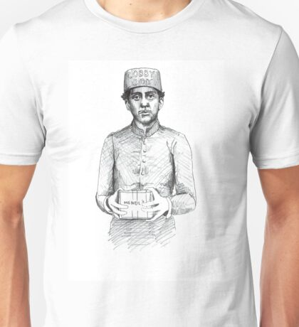 ZERO - Grand Budapest Hotel Unisex T-Shirt