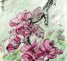 Pink Spring Blossom by Linandara