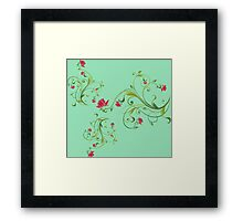 Beautiful climb flowers Framed Print