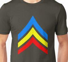 United States Gay Sergeant Stripes Unisex T-Shirt