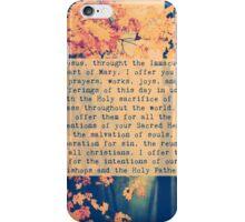 Morning Offering Prayer iPhone Case/Skin