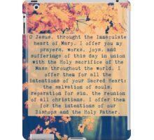 Morning Offering Prayer iPad Case/Skin
