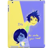 Its all inside your head. iPad Case/Skin