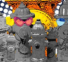 Cool Hydrants poster by valizi