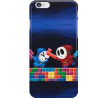 Shy Guys Playing Tetris iPhone Case/Skin