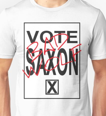 Vote Saxon! Unisex T-Shirt