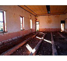 Derelict building Photographic Print