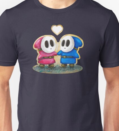 Shy Guys in Love! Unisex T-Shirt