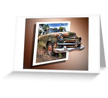Little Ole Rusty 3D Greeting Card