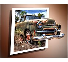 Little Ole Rusty 3D Photographic Print