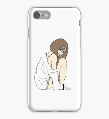 Sweater weather moments iPhone Case/Skin