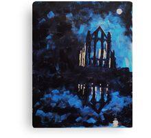 'Whitby Abbey' Canvas Print
