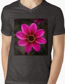 Dahlia Mens V-Neck T-Shirt