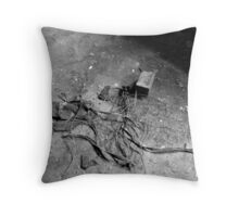 Urban Decay - Wire 001 Throw Pillow