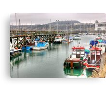 The Harbour ~ Scarborough Metal Print