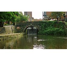 Castlefield Canal basin Photographic Print
