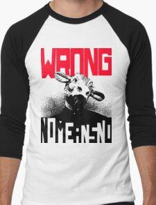 Wrong Nomeansno Men's Baseball ¾ T-Shirt