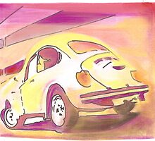 Beetle off to the Sun by Sharon Poulton
