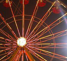Carnival wheel of hope by JaeCee