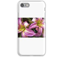 Pink Daylily iPhone Case/Skin