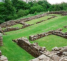 Roman Fort along hadrian's Wall by sledgehammer