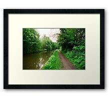 Picturesque English scenery Framed Print