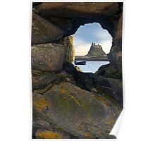 Lindisfarne Castle - Holy Island, Northumberland Poster