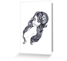 Alternative girl Greeting Card