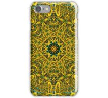 Golden line of hope 01 iPhone Case/Skin
