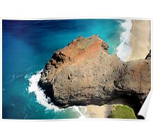 Ne'pali Coast, Kauaii Poster