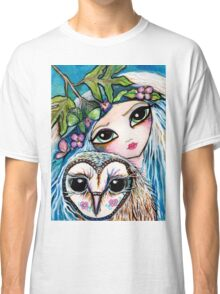 Owl Sprite by Sheridon Rayment Classic T-Shirt