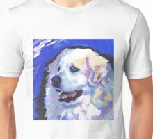 Great Pyrenees Mountain Dog Bright colorful pop dog art Unisex T-Shirt
