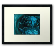 Pan's Labyrinth Faun Framed Print